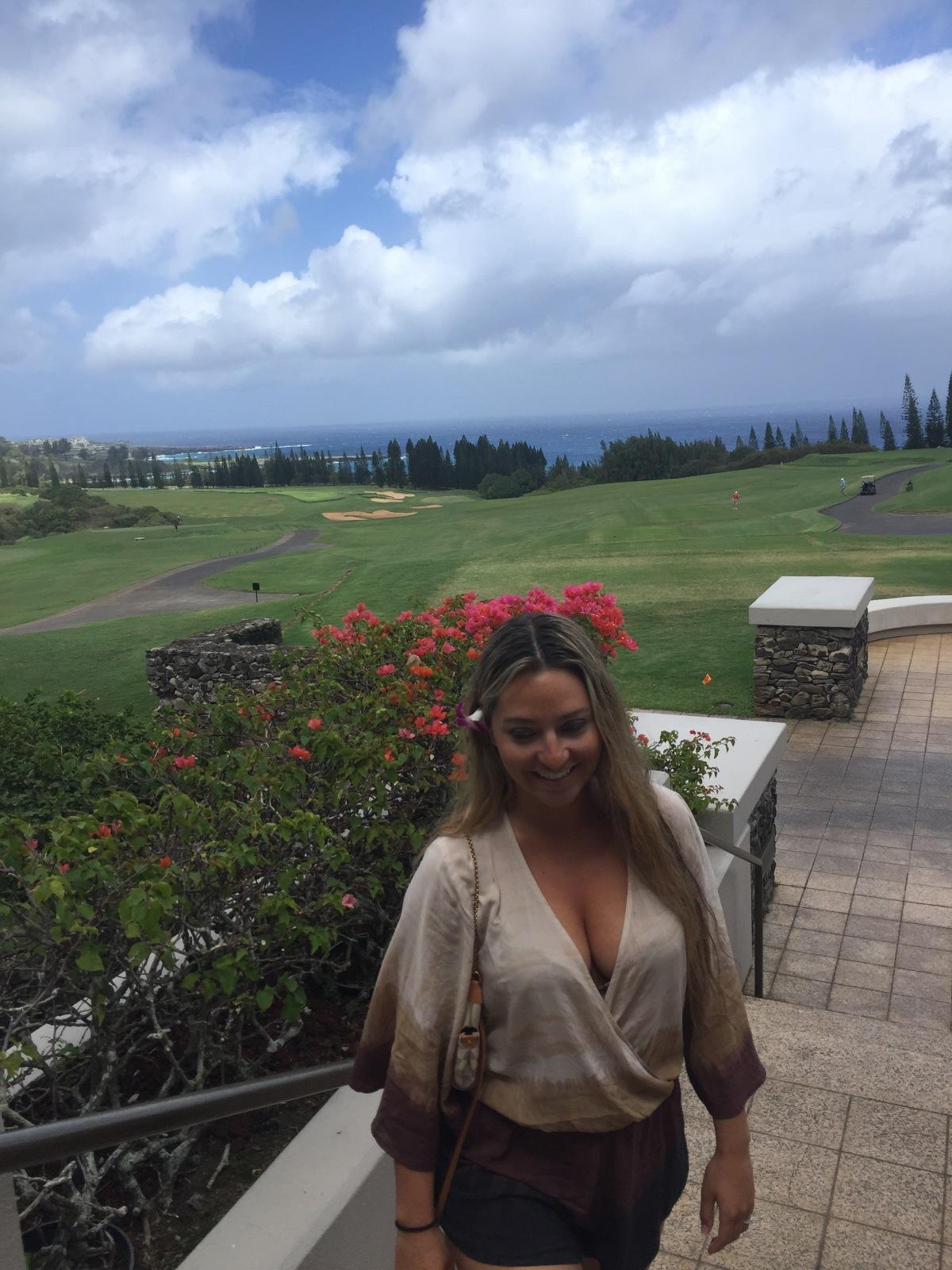Breakfast at the Plantation House,Maui